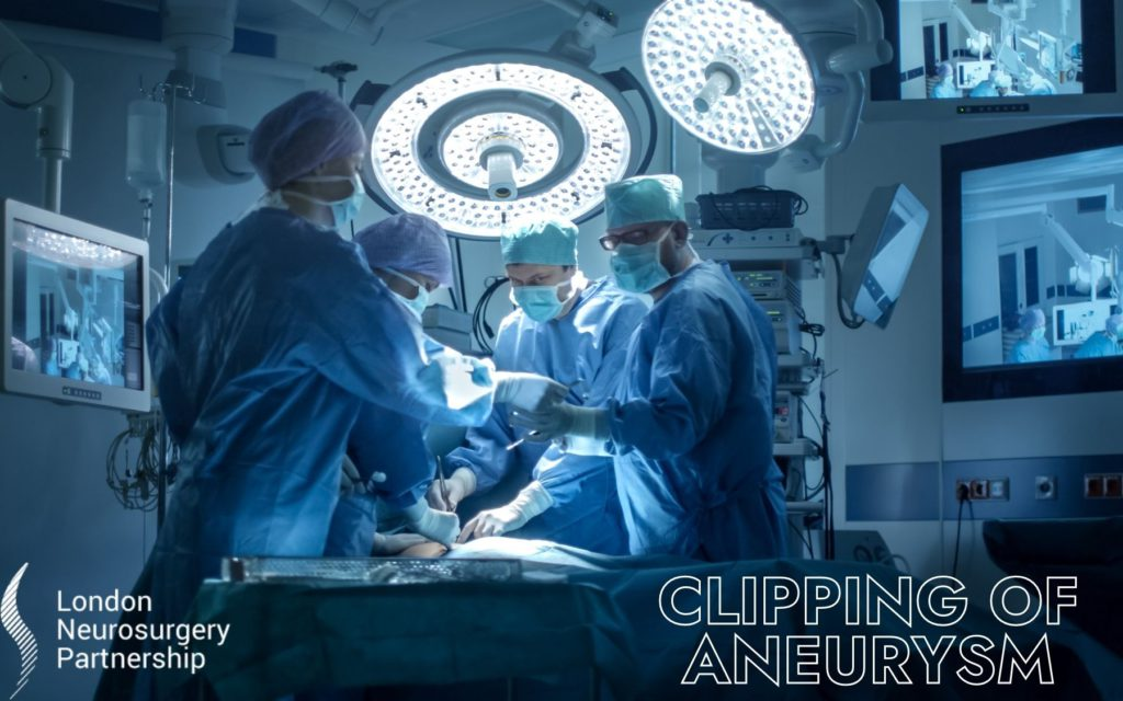 aneurysm clipping